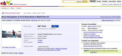 Subasta Ebay