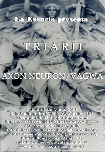 TRIARII + AXON NEURON / VAGWA