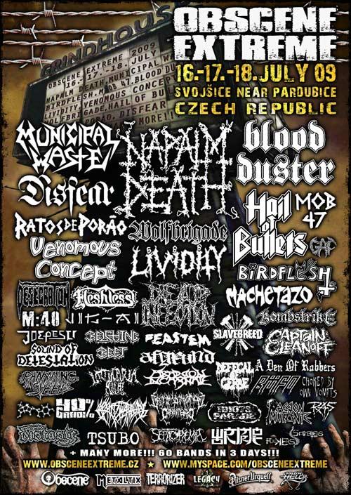 Obscene Extreme 2009