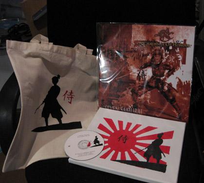 Edición en caja limitada a 20 copias de Seven Samurai ACOH