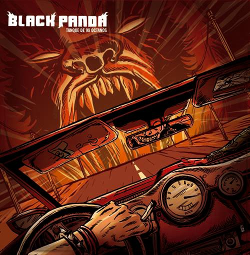 Black Panda - Tanque De 98 Octanos