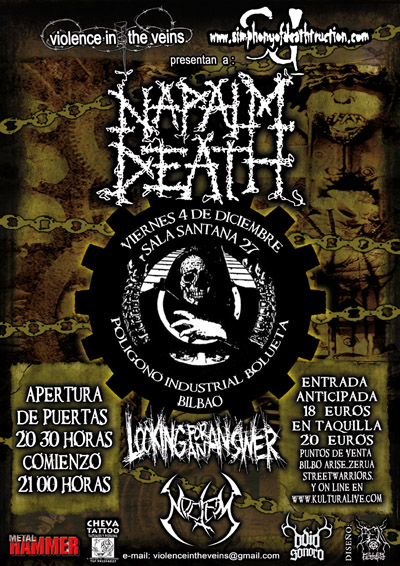 Napalm Death + Looking For An Answer + Noctem